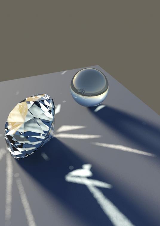 Diamond Render - step1