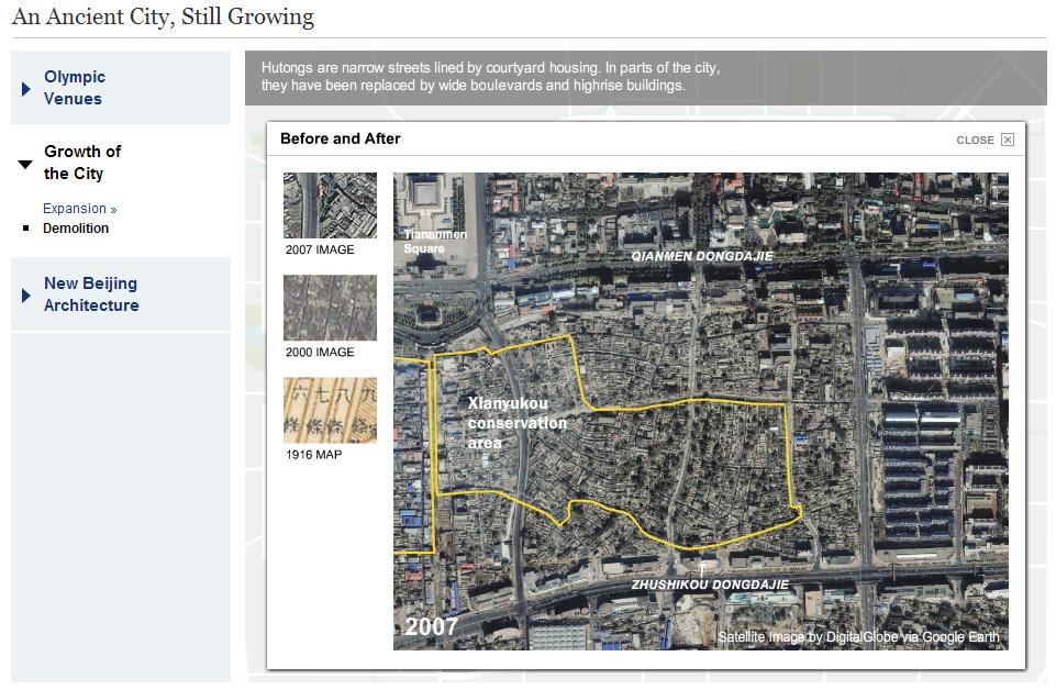 NYT Beijing Map