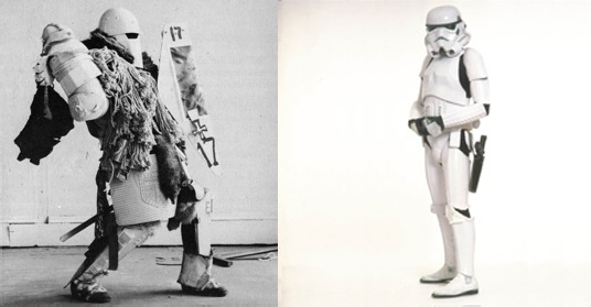 Robert Morris, War (1963) vs. Storm trooper, Star Wars (1977)